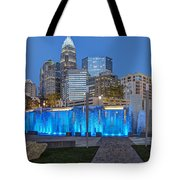 Bearden Blue Tote Bag by Chris Austin