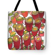 Beating Of The Drum Tote Bag by Sherry Harradence