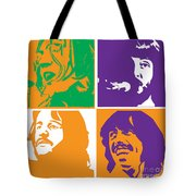 Beatles Vinil Cover Colors Project No.02 Tote Bag by Caio Caldas