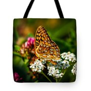 Beautiful Butterfly Tote Bag by Robert Bales