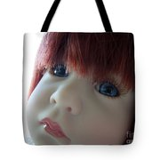 Beautiful Doll Tote Bag by Renee Trenholm