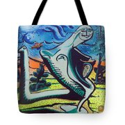 Beautiful Dreamer Bella Reveuse Au Le Monde Tote Bag by Feile Case