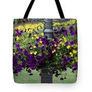 Beautiful Hanging Flowers Tote Bag by Sabrina L Ryan