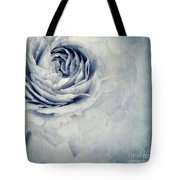 Beauty In Blue Tote Bag by Priska Wettstein