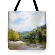 Beauty Of Nature  Tote Bag by Nancy Stutes