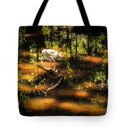 BEAUTY of the BOG Tote Bag by KAREN WILES