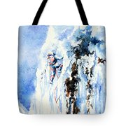 Because It's There Tote Bag by Hanne Lore Koehler