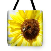 Bee Tote Bag by Les Cunliffe