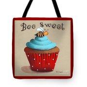 Bee Sweet Cupcake Tote Bag by Catherine Holman