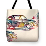 Beetle Car Tote Bag by Mark Ashkenazi