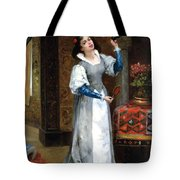Before The Masked Ball Tote Bag by Noel Saunier