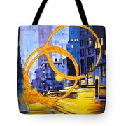 Before These Crowded Streets Tote Bag by Joshua Morton