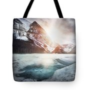 Beginning To Thaw Tote Bag by Kym Clarke