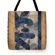Behind The Screen Tote Bag by Carol Leigh