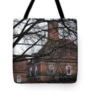 Behind Trees -- The British Ambassador's Residence Tote Bag by Cora Wandel