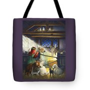 Behold The Child Tote Bag by Lynn Bywaters