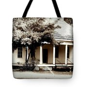 Bellavue Plantation  Tote Bag by Debra Forand