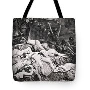 Belshazzars Feast Tote Bag by Granger