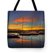 Bembridge Redwings Tote Bag by English Landscapes