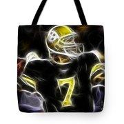 Ben Roethlisberger  - Pittsburg Steelers Tote Bag by Paul Ward
