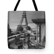 Beneath the Tower  Number 5 Tote Bag by Diane Strain