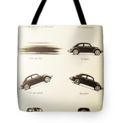 Benefits Of A Volkwagen Tote Bag by Georgia Fowler