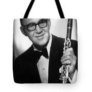 Benny Goodman (1909-1986) Tote Bag by Granger