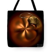 Bent Bauble Tote Bag by Anne Gilbert