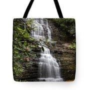 Benton Falls Tote Bag by Debra and Dave Vanderlaan
