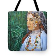 Berber Woman Tote Bag by Enzie Shahmiri