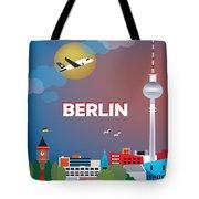 Berlin Tote Bag by Karen Young