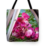 Bespoke Flower Arrangement Tote Bag by Rona Black
