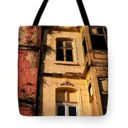 Beyoglu Old Houses 01 Tote Bag by Rick Piper Photography