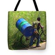 Bicycle Strain Tote Bag by Aidan Moran