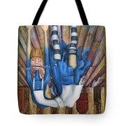 Big Alice Little Door Tote Bag by Kelly Jade King