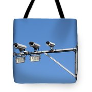 Big Brother Tote Bag by Michal Boubin