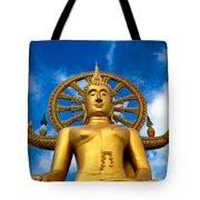 Big Buddha Tote Bag by Adrian Evans