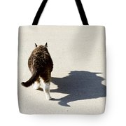 Big Cat Ferocious Shadow Tote Bag by James BO  Insogna