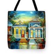 Big Easy Moon Tote Bag by Diane Millsap
