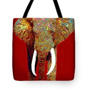 Big Elephant 20130201p0 Tote Bag by Wingsdomain Art and Photography