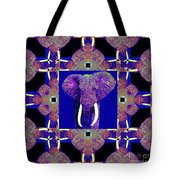 Big Elephant Abstract Window 20130201m118 Tote Bag by Wingsdomain Art and Photography