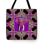 Big Elephant Abstract Window 20130201m68 Tote Bag by Wingsdomain Art and Photography