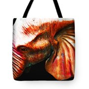 Big Red - Elephant Art Painting Tote Bag by Sharon Cummings
