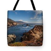 Big Sur Vista Tote Bag by Mike Reid