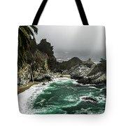 Big Sur's Emerald Oaza Tote Bag by Eduard Moldoveanu
