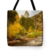 Big Thompson River 10 Tote Bag by Jon Burch Photography