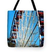 Big Wheel Tote Bag by Kaye Menner