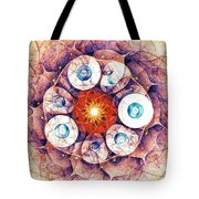 Binding Of Seven Tote Bag by Anastasiya Malakhova