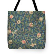 Bird And Pomegranate Tote Bag by William Morris