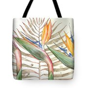 Bird Of Paradise 05 Elena Yakubovich Tote Bag by Elena Yakubovich